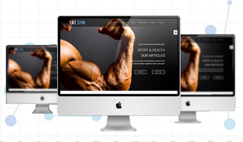 Personal Fitness Marketing Banner